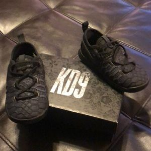 Nike KD9 infant size 8 black